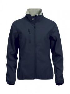 Clique basic softshell jakke – kr. 700,- Brodert logo på venstre bryst og rygg. Fås i fargene sort, marineblå og rød. str. XS-3XL.